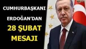 Cumhurbaşkanı Erdoğan'dan 28 Şubat mesajı siyasi hayatım bitirilmek istendi.