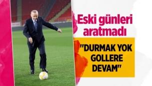 Cumhurbaşkanı Erdoğan'dan gollü paylaşımı