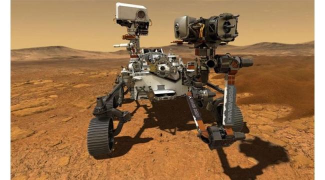 """""""Perseverance"""" adlı keşif aracının Mars yüzeyine başarılı şekilde indi"""