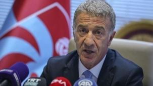 Trabzonspor Başkanı Ağaoğlu: Lise öğrencisi kaleciyle kazandık!