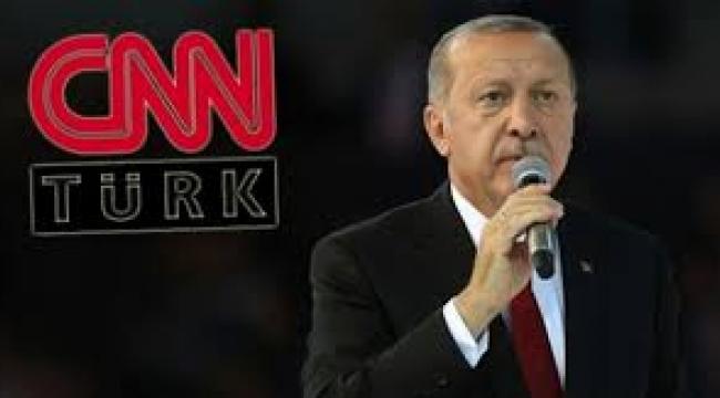 CNN Türk artık sadece Erdoğan'ı yayınlayacak!
