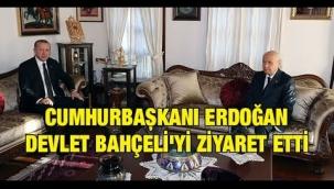 Cumhurbaşkanı Erdoğan Devlet Bahçeli'yi neden ziyaret etti?