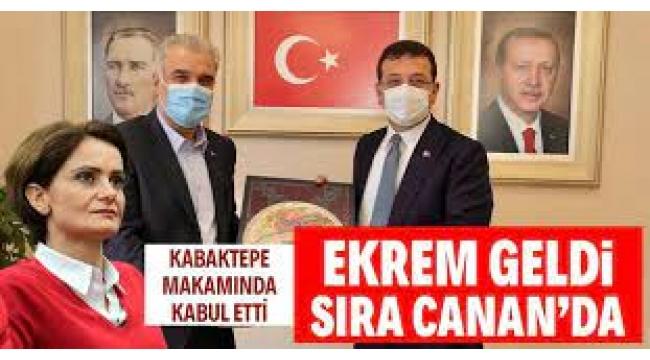 Ekrem İmamoğlu, AKP İstanbul İl Başkanı Osman Nuri Kabaktepe'yi ziyaret etti