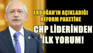 Erdoğan'ın açıkladığı 'Yeni Ekonomi Reformu'na tepki