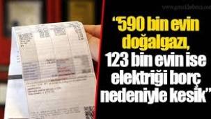 Faturasını ödeyemeyen 590 bin abonenin doğalgazı kesildi
