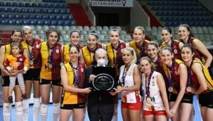 Galatasaray, Kadınlar CEV Kupası'nda ikinci oldu