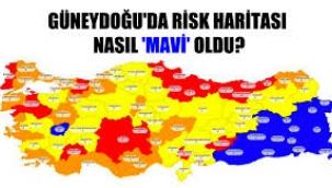 """Güneydoğu'da risk haritası nasıl """"mavi"""" oldu?"""