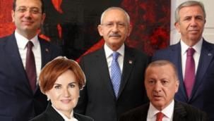Son ankette Erdoğan'ı geçen isim belli oldu