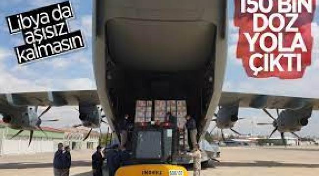 150 bin doz aşı  Libya'ya gönderiliyor