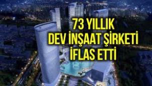Dev inşaat şirketi Garanti Koza iflas etti: Binlerce kişi mağdur!
