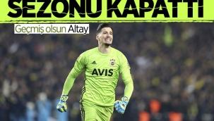 Fenerbahçe'de Altay Bayındır için ameliyat kararı! Sezonu kapattı...