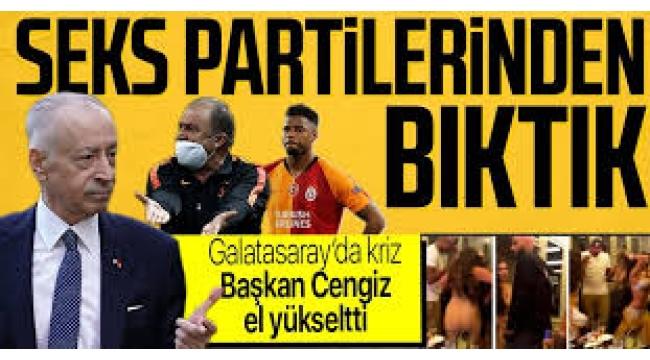 Galatasaray'da Seks Partilerinin Müdavimleri