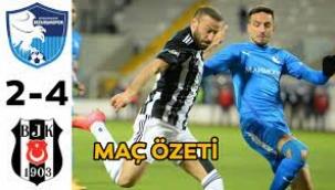 Kartal zirvede Erzurumspor 2-4 Beşiktaş