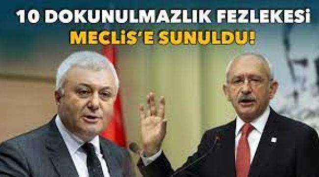Kılıçdaroğlu'nun dokunulmazlığı Meclis gündeminde