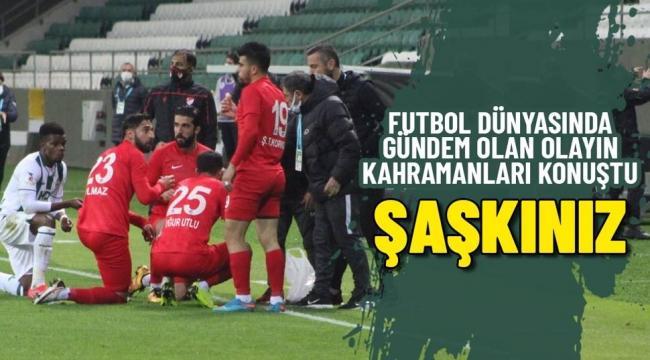 Maç sırasında orucunu açan futbolculardan açıklama: 'Müslüman bir ülkede yaşıyoruz, normal bir durum bu'