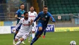 Trabzonspor Rizespor ile yenişemedi…