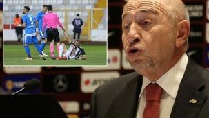 Türk futboluna yakışmayan statlarda ve kötü zeminlerde maç oynatmayacağız