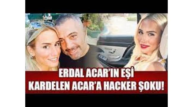 Erdal Acar'ın eşi nin Çıplak fotoğraflarını paylaştılar