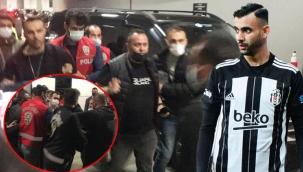 Ghezzal'ın menajeri Hakan Korkmaz gözaltına alındı.