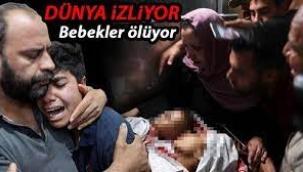 İsrail'den katliam! Çoğu çocuk 20 kişi hayatını kaybetti