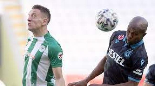 Konyaspor 1 - 1 Trabzonspor