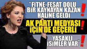 Nagehan Alçı  AKP'nin içi fitne dolu kaynayan kazan