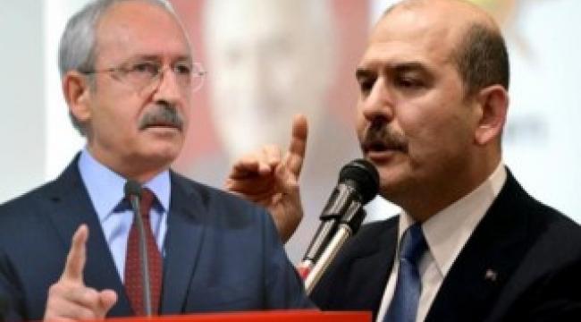 Sedat Peker'in iddiaları! Süleyman Soylu, CHP lideri Kılıçdaroğlu'nu hedefe koydu