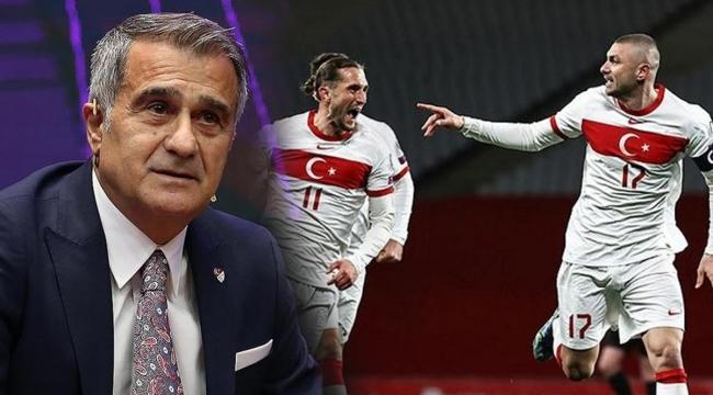 Şenol Güneş, Milli Takım'ın EURO 2020 kadrosunu açıkladı!