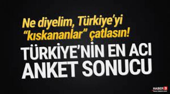 Son Türkiye araştırması gerçeği ortaya koydu!