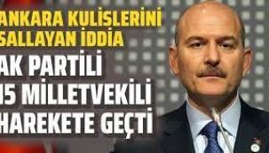 """AKP'de Süleyman Soylu çatlağı... 15 milletvekilinden """"istifa etsin"""" çıkışı"""