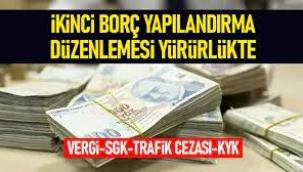 KYK borçları, vergi cezaları yapılandırması Resmi Gazete'de