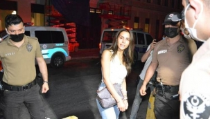 Lüks mekanda kanlı tartışma! Ünlü oyuncu Ayşegül Çınar ve eski sevgilisi gözaltına alındı