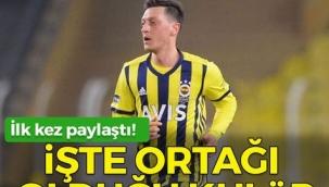 Mesut Özil, ortağı olduğu kulübü ilk kez açıkladı!