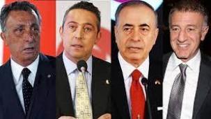 4 büyük kulüp başkanından ortak açıklama: Ligden çekileceğiz