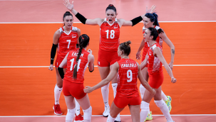 A Milli Kadın Voleybol Takımı, Tokyo 2020'de İtalya'ya mağlup oldu
