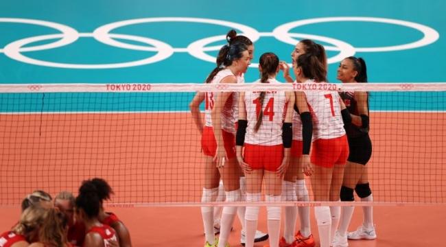 A Milli Kadın Voleybol Takımı, tur için yarın Arjantin karşısında olacak