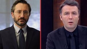 Habertürk sunucusu Mehmet Akif Ersoy'dan Altun'a 'kınama' yanıtı