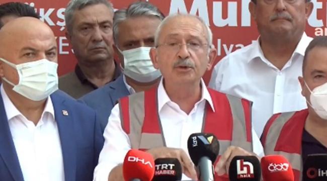 Kılıçdaroğlu: 2002'de 19 pilot, 19 yangın söndürme uçağımız varken neden şimdi yok, nereye gitti bu uçaklar?