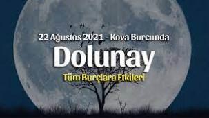 22 Ağustos Kova burcunda Dolunay burç yorumları