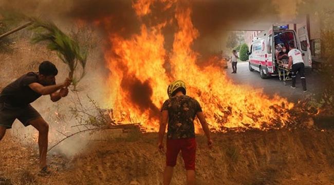 5 ilde 14 yangın devam ediyor! Orman yangınlarında son durum