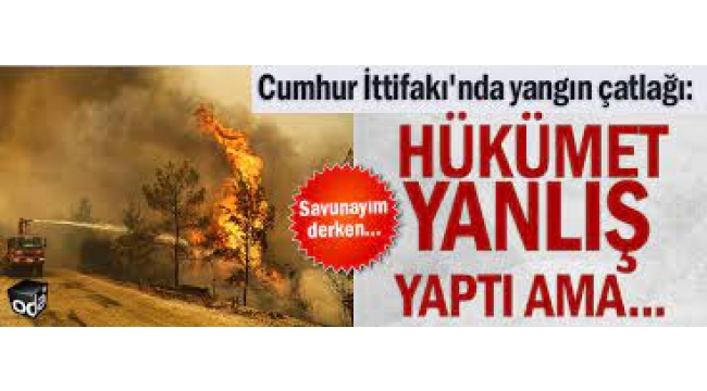 MHP'li danışman kabul etti: Hükümet hata yaptı.