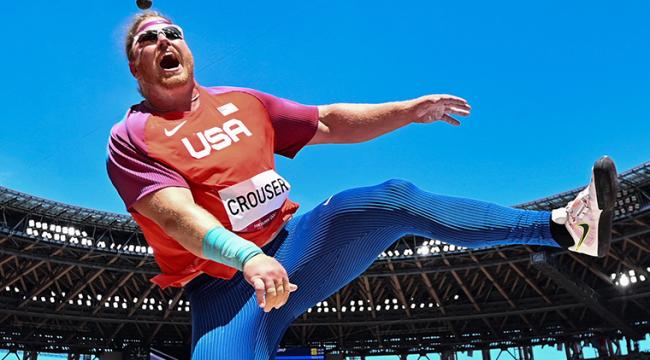 TOKYO 2020 | ABD'li Crouser olimpiyat rekoru kırdı