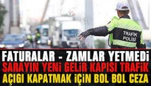 AKP Hükümeti Trafik Cezalarını Gelir Kapısı Görüyor!
