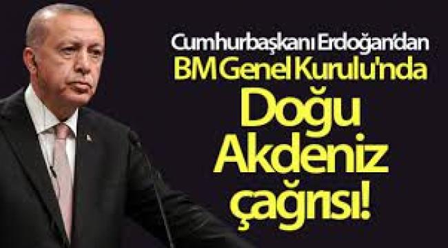 Cumhurbaşkanı Erdoğan BM Genel Kurulu'nda dünyaya seslendi