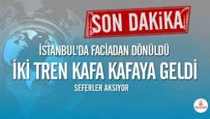 İstanbul'da hızlı tren kazası; YHT ile Adapazarı treni kafa kafaya geldi