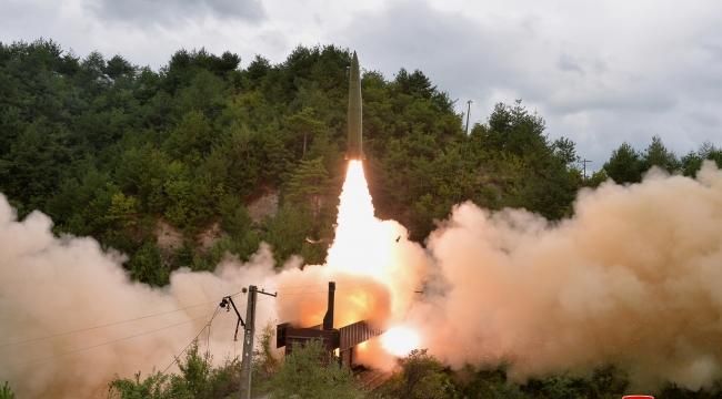 Kuzey Kore'den endişelendiren deneme: 'Tehdit eden güçler' için geliştirildi