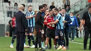 Maç bitti, kavga başladı