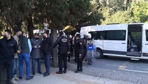 Boğaziçi Üniversitesi'nde öğrencilere müdahale