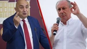 CHP'li Özkoç'tan Muharrem İnce'ye sert tepki