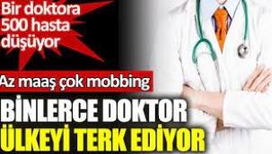 Doktor göçü; iki yılda 3 bin doktor Türkiye'den ayrıldı, 8 bini gitmek için bekliyor!